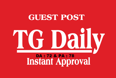 Write and Publish On Tgdaily - Tgdaily.com ( DA72 ) Dofollow