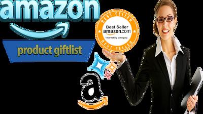 Create 250 Unique Searchable Wishlist + Gift list For Amazon Seo