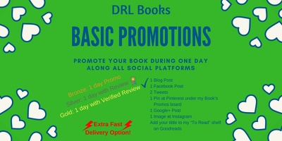 Promote your book everywhere during one day