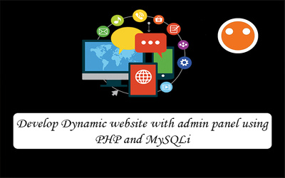Develop Dynamic Website With Admin Panel