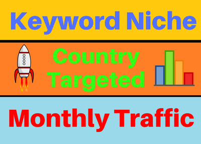 Provide Keyword Targeted Monthly Website Traffic