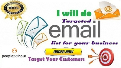 Collect niche based clean targeted and valid email list