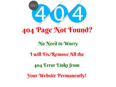 Fix Broken Links And 404 Errors From Wordpress Websites