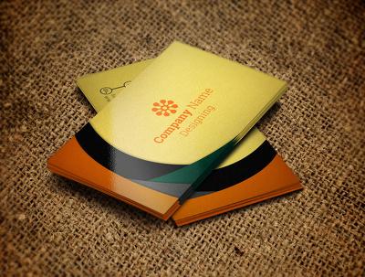 Design corporate business card