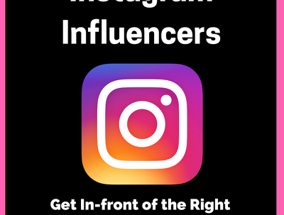 Find Instagram Influencers for your marketing campaigns