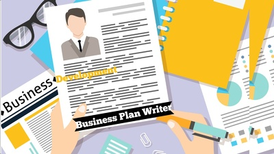Write a Professional Business Plan - 5 Years Financial Analysis