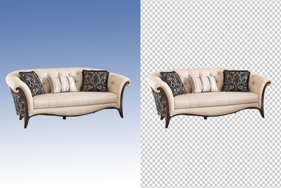 Remove background of 20 images, clipping path, deep etch
