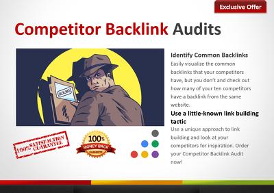 Prepare Competitor Backlink Research