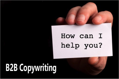 Deliver 100 words of discreet B2B business copywriting