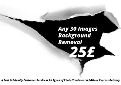 Can 30 Images Background Removal.