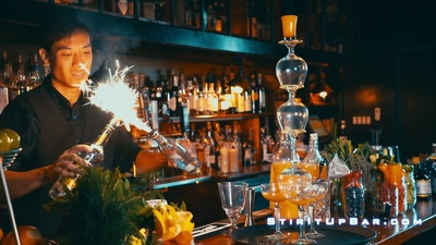 Film a video for your bar/restaurant for social media promotion