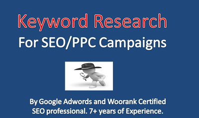 Do keyword research for SEO & PPC