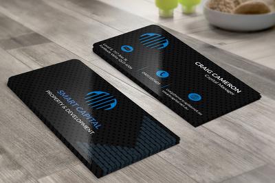 Create a corporate business card
