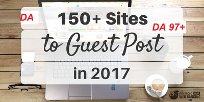 Provide you 10 Guest post on high DA sites with content