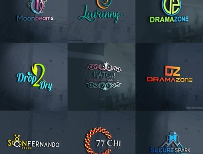 Bespoke Logo+Initial Concepts+Unlimited Revisions+Source Files