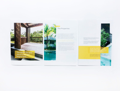 Design brochure (up to 10 pages)