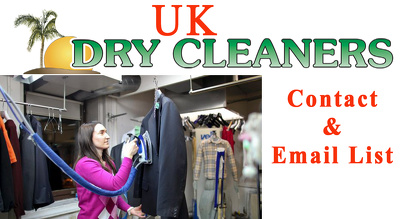 Send you 2500 plus UK dry Cleaner contacts with emails