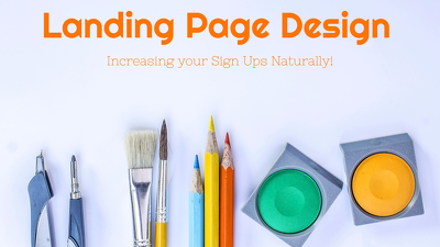 Design and Host your Landing Page