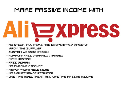 Create a Aliexpress Dropshipping Website for you with 100 Profitable Niche Products