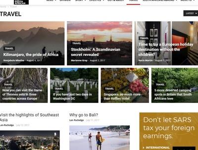 Guest post on a top international news site DA50 / PR5