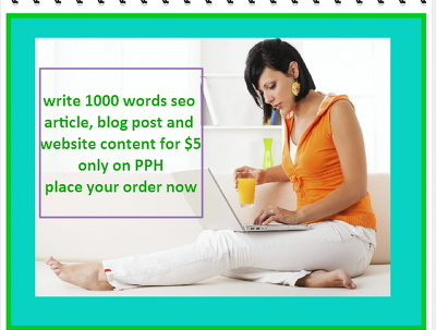 Write 1000 words seo article, blog post and website content.