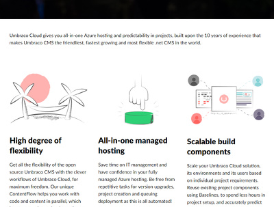 Set up responsive Umbraco Cloud hosted website and theme