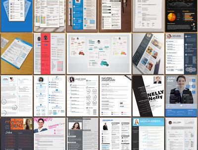 Create a powerful CV & resume design with unlimited revisions