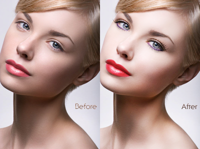 Professionally retouch and edit your photo.