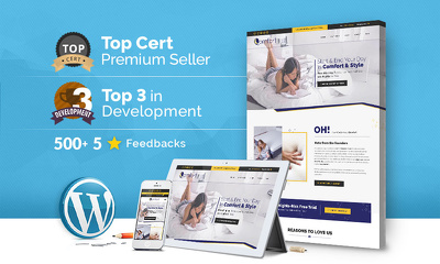Design and Develop a top-Quality premium responsive WordPress/CMS website
