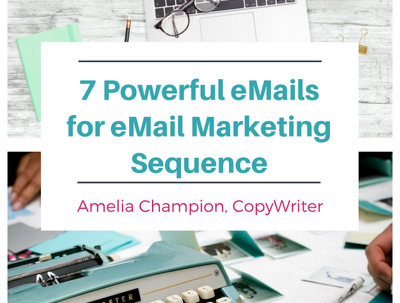 Write an effective 7 email marketing sequence campaign with magnet for leads