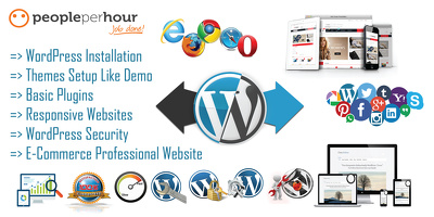 Develop & Design Professional ,SEO Friendly ,Super Fast Loading WordPress Websites