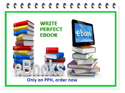Be your perfect ebook writer . 10 pages