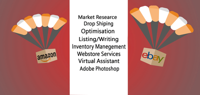 Product Research Optimization Listing 100 eBay or Amazon