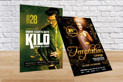 Design unique Flyer and Poster for any event with unlimited revisions