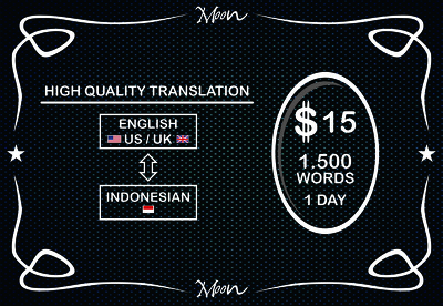 Translate +/-1500 words from English to Indonesian or vice versa