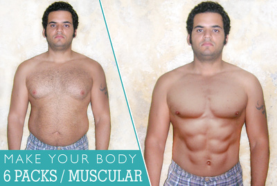 Transform your body from fat to slim in Photoshop