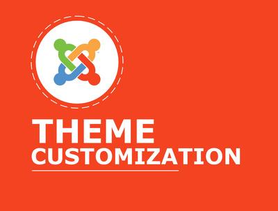 Do Joomla theme customization