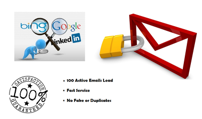Create a list of 100 active email leads with Bonus info