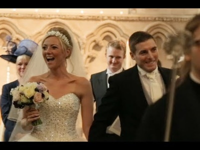 Edit your wedding video, adding music and some simple graphics