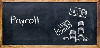 Process payroll for 5 staff
