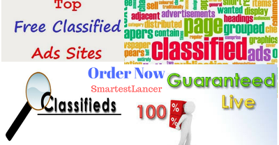 Do Classifieds posting on 20 top rated classified sites