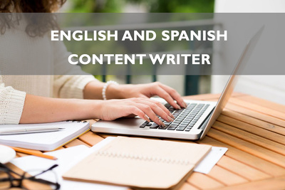 Write a 400 word article in English and/or Spanish