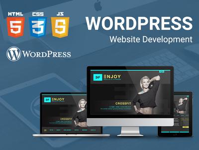 Design and develope your wordpress website