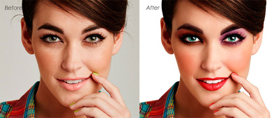 Professionally Retouch your images on high end level 5 photos