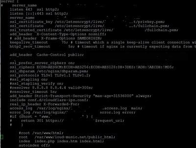 Install LEMP webserver with CSF, DOCKER, CERTBOT, CLOUDFLARE
