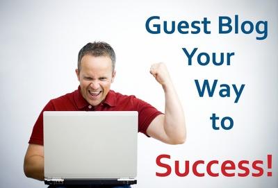Do guest post in da40 technology blog