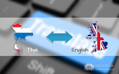 Translate upto 500 words from English to Thai or Thai to English