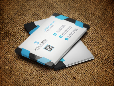 Design corporate 2 side business card with extra fast delivery