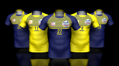 3D visualization of custom apparel