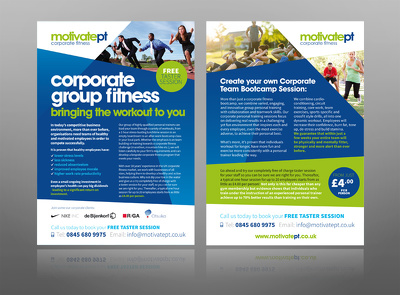 Design TWO professional Flyers